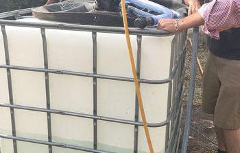 Bien gérer sa cuve d'eau de pluie